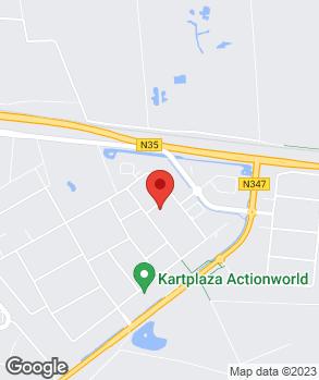 Locatie AK Auto's op kaart