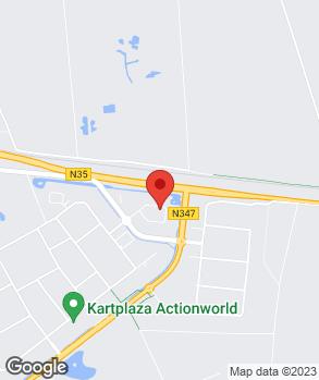 Locatie AutoBas B.V. op kaart