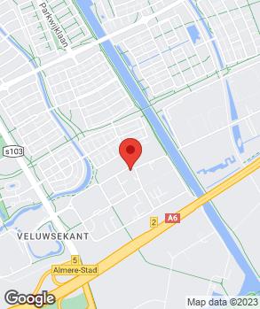 Locatie Euromaster Almere op kaart