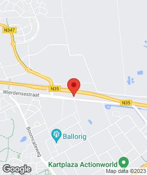 Locatie Autoplein Nijverdal op kaart