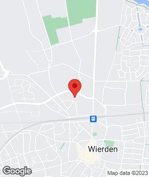 Locatie Auto Wierden op kaart