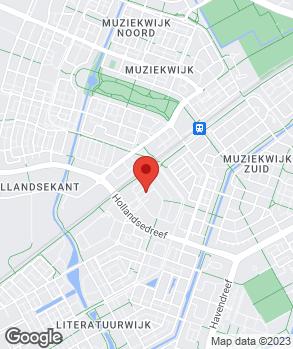 Locatie Tiko B.V. Mercedes Benz Almere op kaart