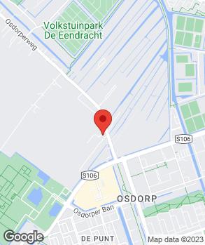 Locatie Garage Osdorp op kaart