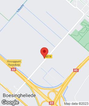 Locatie occasion carpark op kaart