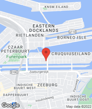 Locatie Garage Zeeburg op kaart
