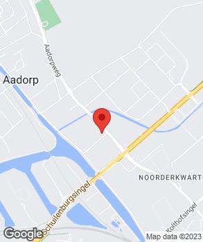 Locatie Garagebedrijf Henk Hondebrink op kaart