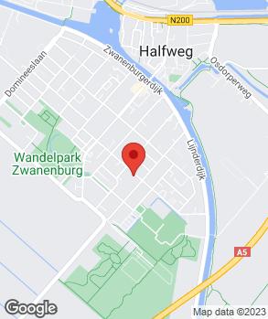 Locatie C. van der Laan op kaart