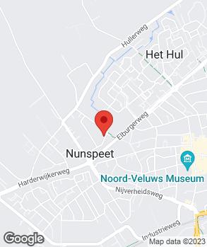 Locatie Autofix Nunspeet B.V. op kaart