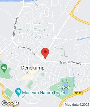 Locatie Autobedrijf Tijkorte Denekamp B.V. op kaart