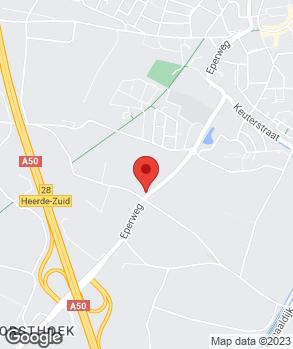 Locatie Autobedrijf van de Wetering op kaart