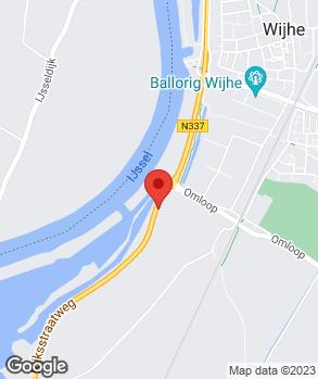 Locatie Vakgarage Nienhuis op kaart