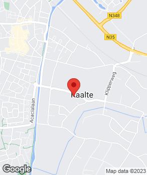 Locatie Auto Palace Raalte op kaart