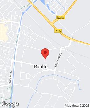 Locatie RW Services op kaart