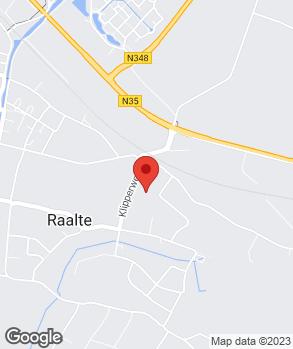 Locatie Profile Car & Tyreservice Raalte op kaart