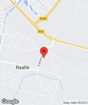 Locatie Morrenhof Exploitatie Raalte B.V. op kaart