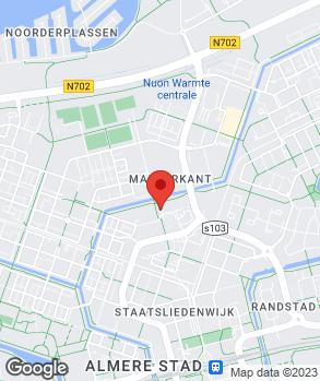 Locatie Garage Flevoland op kaart