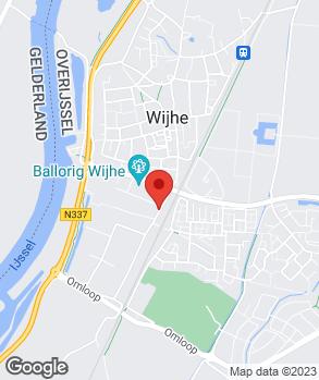 Locatie Auto Salland Wijhe op kaart