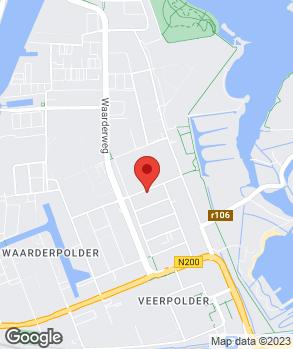 Locatie Dekker & Brouwer op kaart