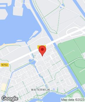Locatie ASW. Auto Service Waterwijk op kaart