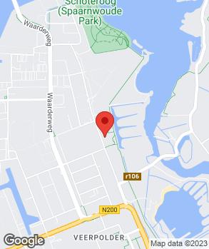 Locatie APK de Waarder op kaart