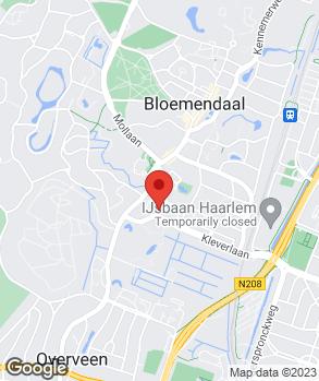 Locatie Kennemer Autobedrijf op kaart