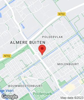 Locatie Poldercars op kaart
