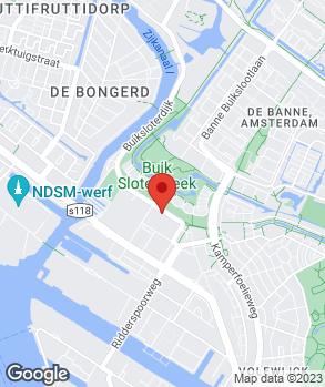 Locatie Garagebedrijf 't Hoekje op kaart