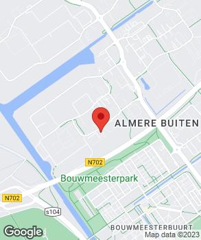 Locatie Stijvers Auto's B.V. op kaart