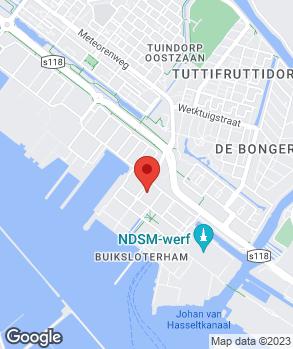 Locatie Astax B.V. op kaart