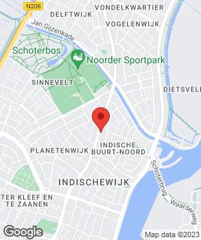 Locatie Handelsonderneming Van Baren op kaart