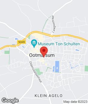 Locatie Garagebedrijf Ben van der Aa op kaart