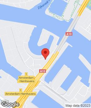 Locatie Garage A10 op kaart
