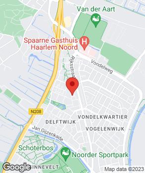 Locatie Auto Noord B.V. op kaart