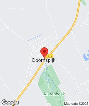 Locatie Garage Hooghordel V.O.F. op kaart