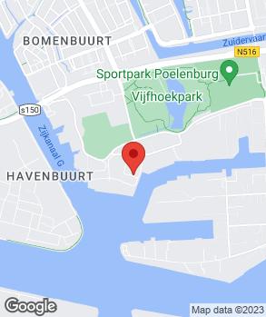 Locatie Autocenter Zaan op kaart