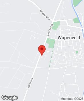 Locatie Profile Car & Tyreservice Wapenveld   Autobedrijf S. Rorije op kaart