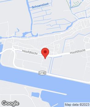 Locatie Brouwer Banden op kaart