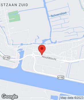 Locatie Autobedrijf Avan op kaart