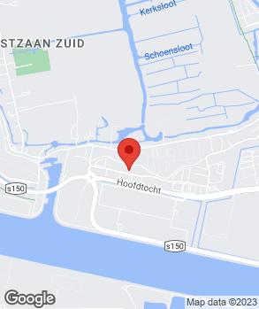 Locatie Bakker Motors B.V. op kaart