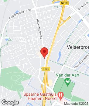 Locatie Automobielbedrijf G.J. Waardenburg op kaart