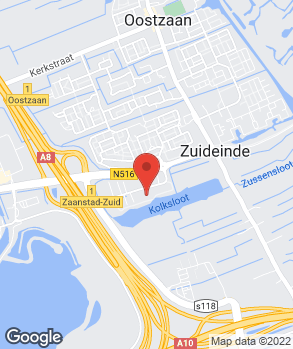 Locatie Autobedrijf Ton de Wit B.V. op kaart