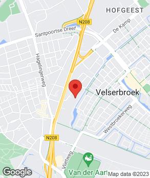Locatie Automobielbedrijf Tinholt BV op kaart