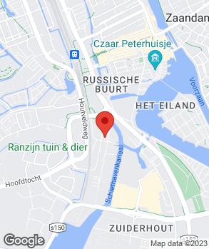 Locatie B. Hendriks op kaart