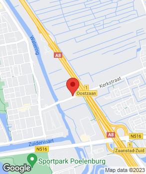 Locatie Autohandel C. Bakker B.V. op kaart