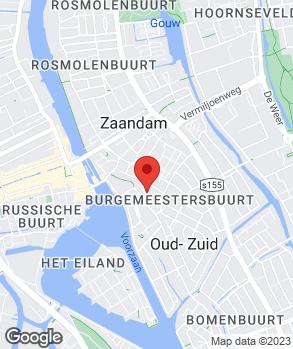 Locatie Autobedrijf Veza Zaandam op kaart