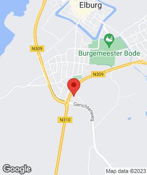 Locatie Automobielbedrijf Flier op kaart