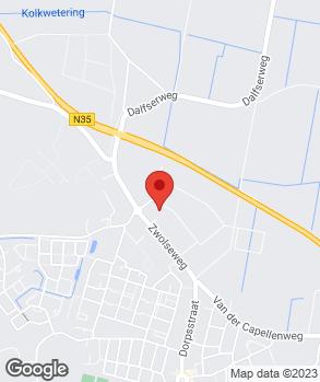 Locatie Bosch Car Service Heino | Car Centre Salland op kaart