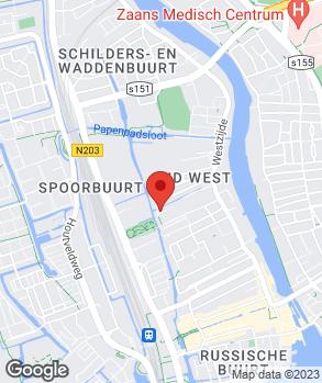 Locatie Dirk Appel op kaart