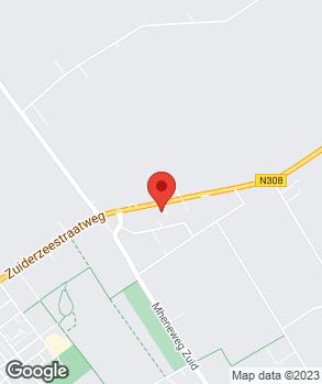 Locatie V.O.F. Autohandel G. Blaauw op kaart