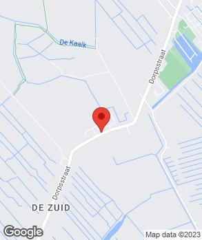 Locatie V.O.F. Autobedrijf Van 't Veer-Siebeling op kaart
